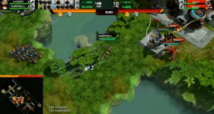 A Fast-Paced, Brilliant Twin-Stick MOBA
