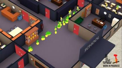 Turn Human Students Into Obedient Pineapples In This Upcoming Management Sim
