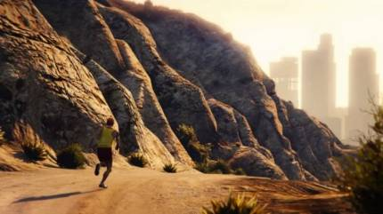 Trevor Jogs Through Los Santos In First Video Made With GTA V PC Editor