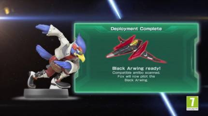 Nintendo Shows Off Star Fox Zero's Amiibo-Unlocked Black And Retro Arwings