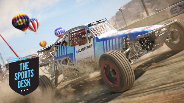 The Sports Desk – 30 Details About Dirt 4