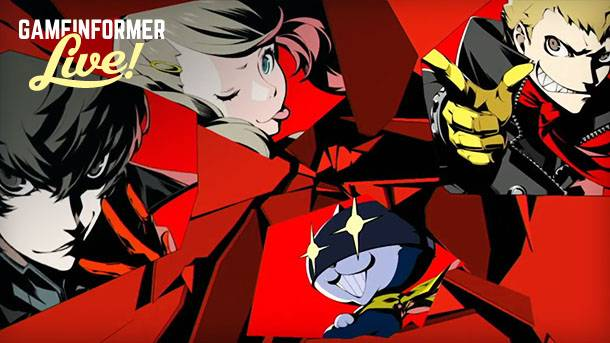 We're Livestreaming Persona 5 Right Now