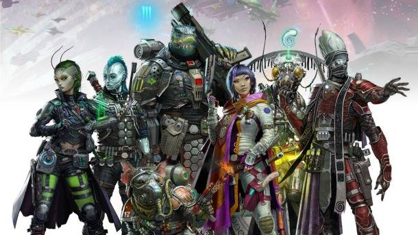 Exclusive First Look At Starfinder's Iconic Characters