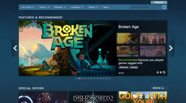Valve only wants to sell you good games
