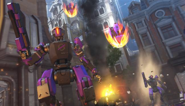 It's robot killing time in Overwatch's Uprising event