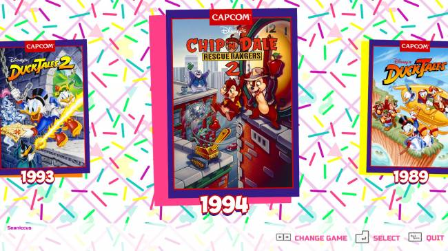 Capcom's collection of Disney NES games does retro gaming right