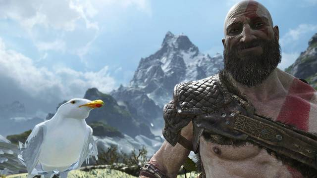 God of War's photo mode will let you turn Kratos' frown upside down