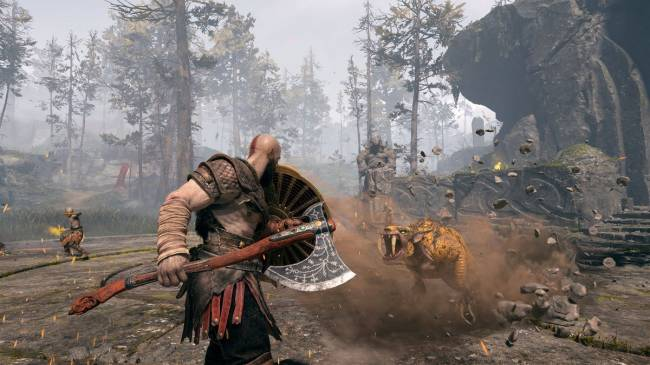 God Of War PS4's Immersive Mode Is The Best Way To Play
