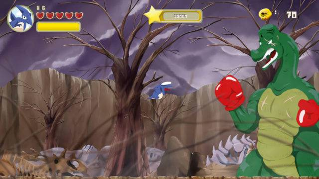 Super Saurio Fly Soars on Switch Next Week
