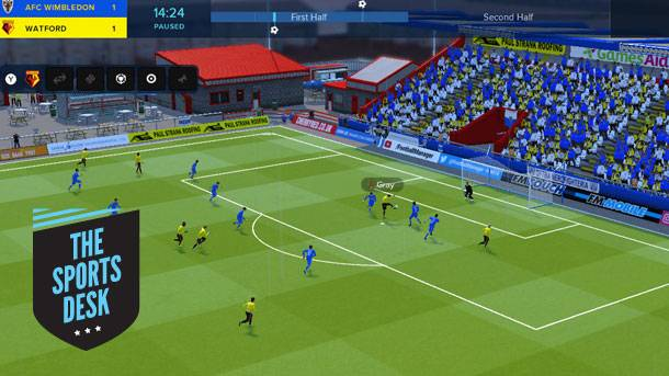 The Sports Desk – Football Manager Touch 2018 Strikes The Switch