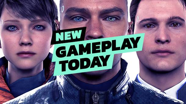 New Gameplay Today – Detroit: Become Human