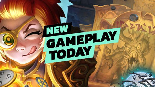 New Gameplay Today – Hearthstone's Witchwood Monster Hunt