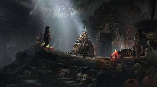 Shadow Of The Tomb Raider Concept Art Gallery