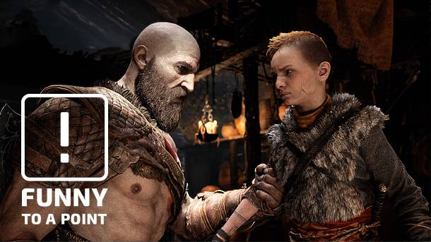 Funny To A Point – 10 Fatherly Lessons From Kratos