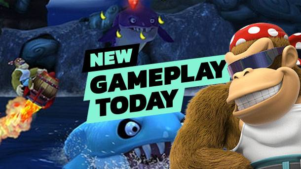 New Gameplay Today – Donkey Kong Country: Tropical Freeze On Switch
