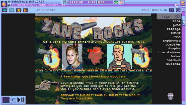 Only '90s Kids Will Get This Upcoming Internet Sim