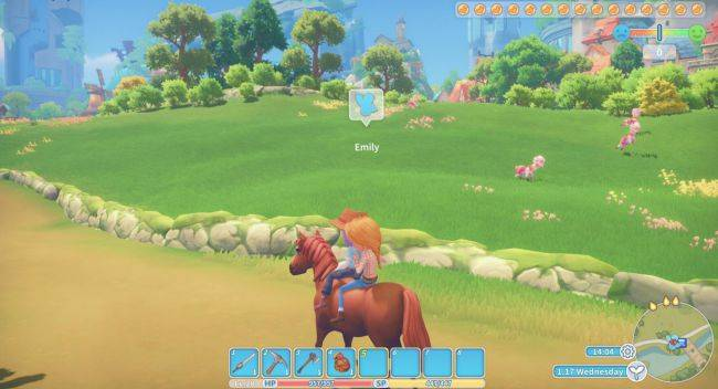 My Time At Portia 'livestock update' adds farm animals, horse riding, and improves dating