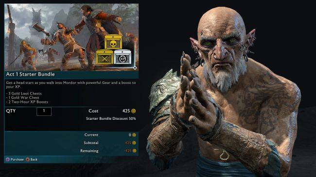 Middle-earth: Shadow of War is ditching loot boxes