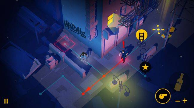 Infiltrate cities and spray graffiti in turn-based stealth game Vandals