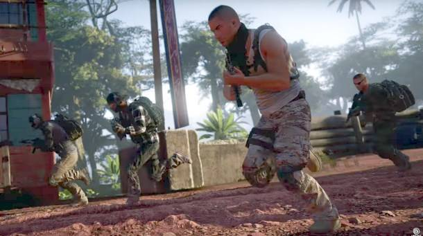 Ubisoft says it's impossible to make a battle royale mode for Ghost Recon Wildlands right now