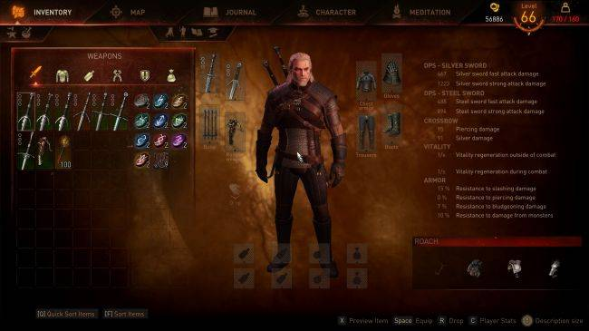 The Witcher 3 mod painstakingly recreates the UI and HUD from E3 2014 demo