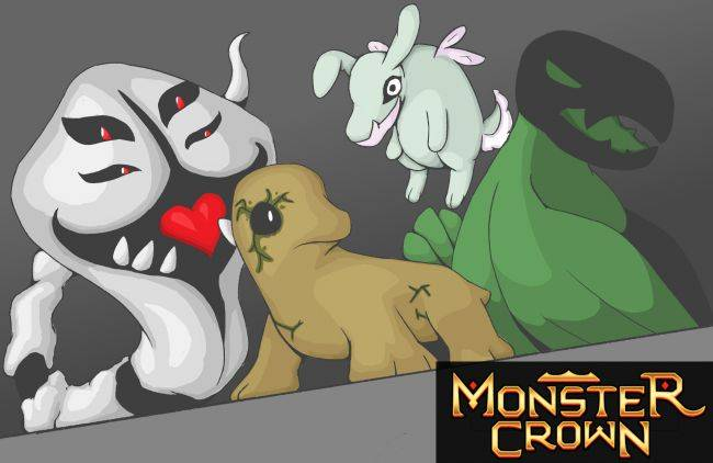 Monster breeding RPG Monster Crown looks like build-a-Pokémon