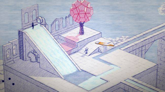 Solve lovely-looking puzzles as a pen-and-paper samurai in Inked
