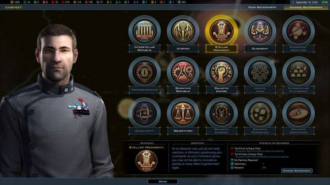 Galactic Civilization 3 gets governments and crises in the new 'Intrigue' expansion