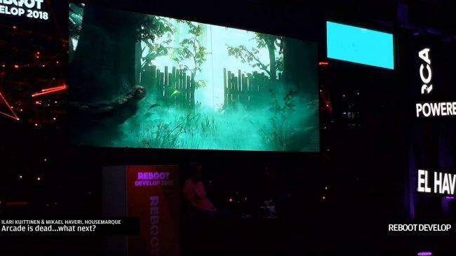 After giving up on arcade games, it sounds like Housemarque is making a battle royale