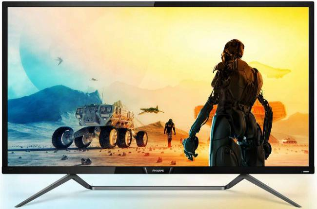 The first DisplayHDR 1000 monitor is a 43-inch model from Philips