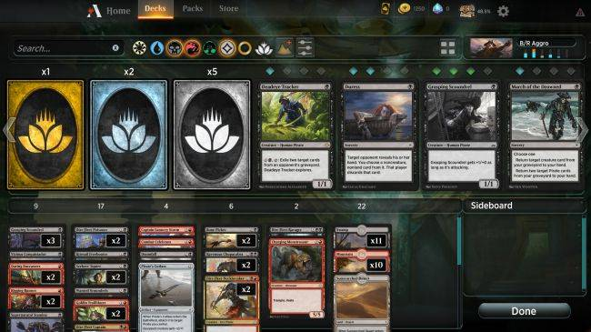 Here's details on Magic: The Gathering Arena's upcoming economy and drafts