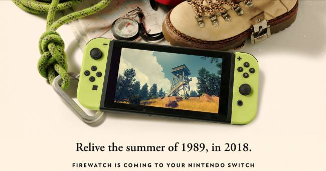 'Firewatch' is the latest indie game headed to Nintendo Switch