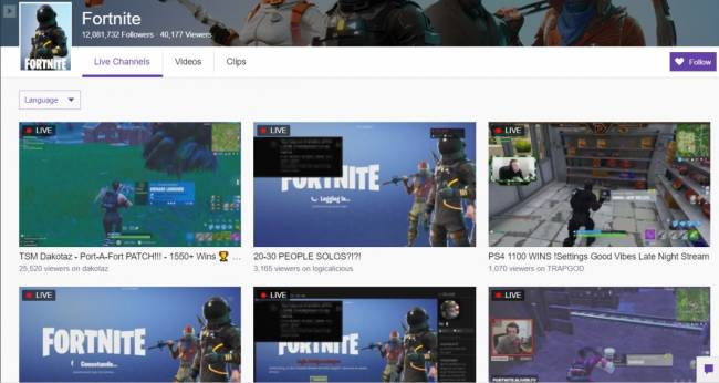 'Fortnite' has been down for hours, but don't tell Twitch