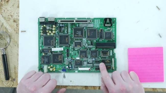 Ben Heck's Sega Saturn teardown