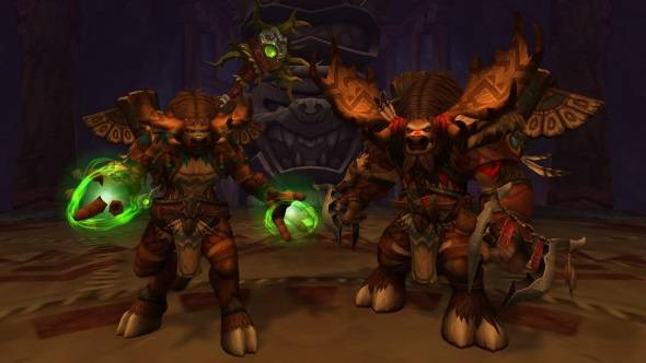 Two new races are playable in the latest Battle for Azeroth build