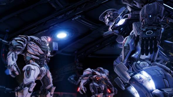 Archangel multiplayer update adds new game modes, maps, and warrior mechs