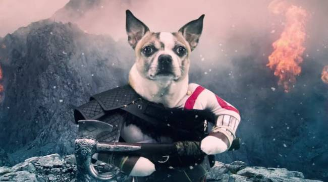 Sony Releases Funny Dog of War Trailer