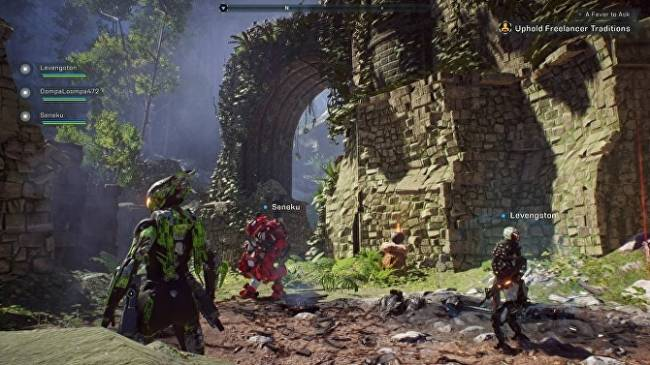 Anthem updates with a new Stronghold and mid-mission gear changes