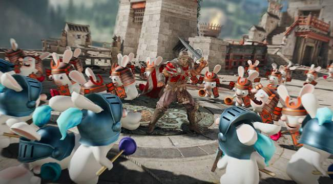 For Honor Limited-Time Event Brings A Rabbids Invasion