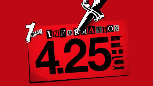Another Persona 5 Announcement Teased For April, And It's Not P5R
