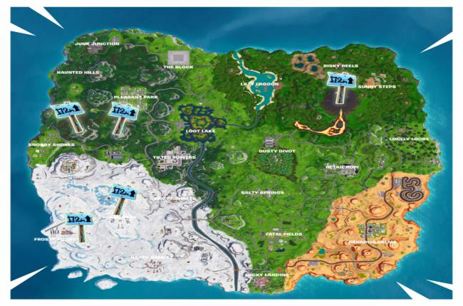 Fortnite Locations: Where Highest Elevation Points Are On The Island (Season 8, Week 6)