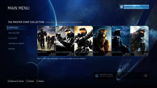 Halo: Reach Begins Beta Tests On PC And Xbox One This Month, See A Work-In-Progress Menu Image Here
