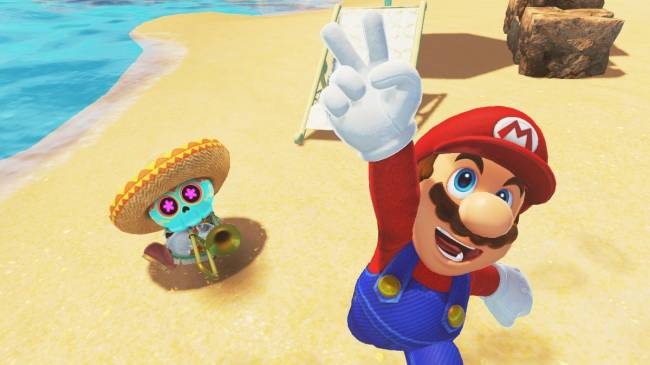 Super Mario Odyssey's Labo VR Mode Shown Off In New Screenshots