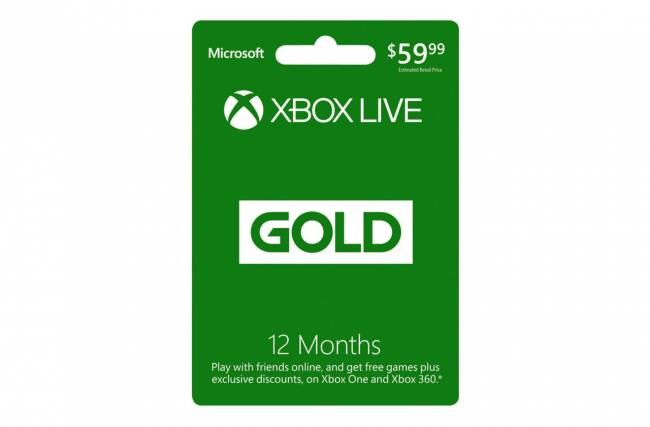 Flash Deal: Get 12 Months Of Xbox Live Gold For $40