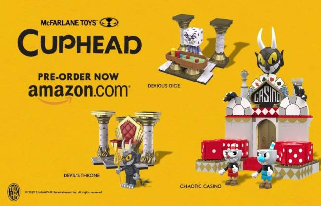 You'll Want To Sell Your Soul To The Devil For These Cuphead Construction Sets