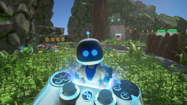 Astro Bot Developer Shows Off Early DualShock 4 Prototypes