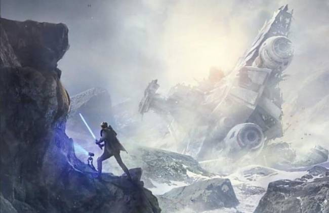Amazon Posts Concept Art Of Respawn's Star Wars Game Early
