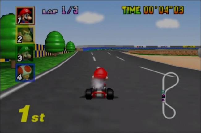Nintendo Used Some Pretty Cool Tricks To Get Mario Kart 64 To Run On The Nintendo 64