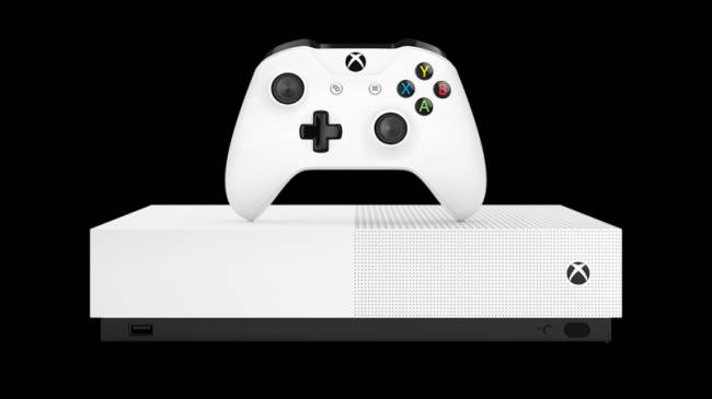 Microsoft Announces All-Digital Xbox One S