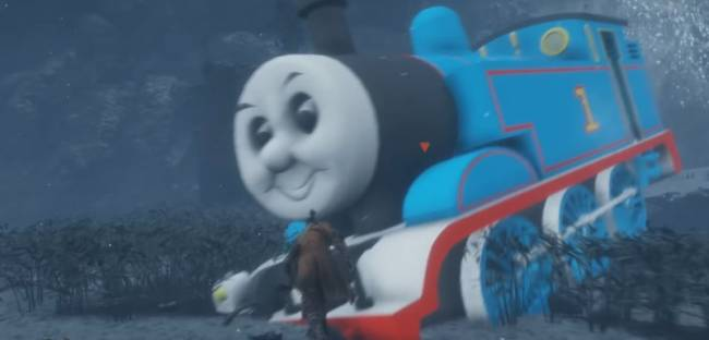 This Mod Swaps Sekiro's Great Serpent For Thomas The Tank Engine